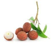 świezi lychees Obrazy Royalty Free