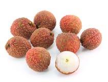 świezi lychees Fotografia Royalty Free