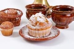 Świezi muffins Fotografia Royalty Free