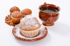 Świezi muffins Zdjęcia Royalty Free