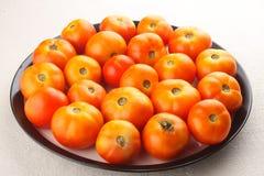 Świezi Organicznie pomidory. obraz royalty free