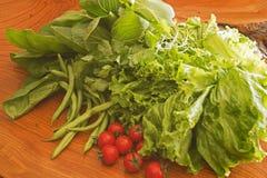 Świezi organicznie warzywa Zdjęcia Royalty Free