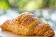 świezi piec croissants Zdjęcie Stock