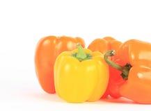 Świezi pieprzowi warzywa Zdjęcia Royalty Free
