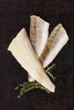 Świezi rybi plasterki Zdjęcie Stock