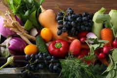 świezi ustaleni warzywa Zdjęcie Royalty Free