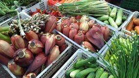Świezi vegatables w azjata rynku Zdjęcia Royalty Free