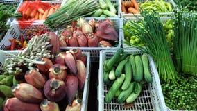 Świezi vegatables w azjata rynku Zdjęcie Royalty Free