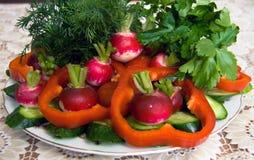 świezi warzywa Zdjęcia Stock