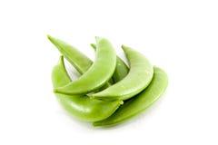 świezi zieleni grochy Fotografia Royalty Free