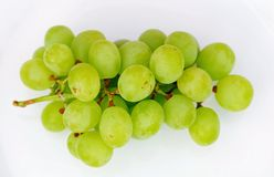 Świezi zieleni winogrona Obrazy Stock