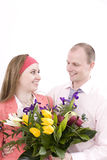 Wife and husband Royalty Free Stock Photography