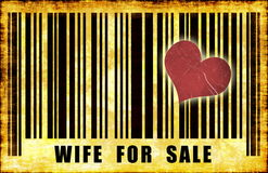 Wife For Sale Stock Photography