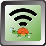 Wifi żółw Fotografia Royalty Free