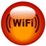 wifi иконы кнопки Стоковое Фото