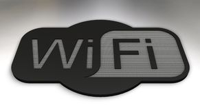 Wifi Photo libre de droits