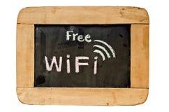 自由wifi标志 库存图片