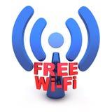 WiFi Royalty-vrije Stock Foto