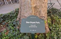 WiFi, Bryant Park, NYC, NY, USA Lizenzfreie Stockfotografie