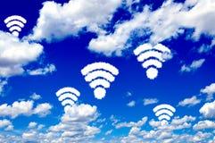 Free WiFi Clouds Stock Photo - 35325150