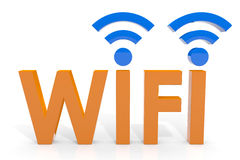 Wifi concept. Stock Photos