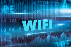 Wifi concept Royalty Free Stock Images