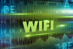 Wifi concept Stock Images