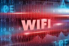 Wifi concept Royalty Free Stock Image