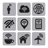Wifi connection Stock Images