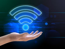 Wifi connection Royalty Free Stock Images