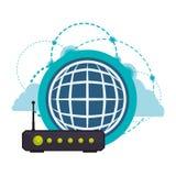 Wifi design Royalty Free Stock Photo