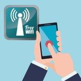 Wifi design Royalty Free Stock Image