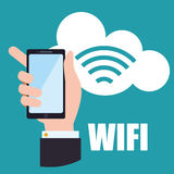 Wifi design Royalty Free Stock Images