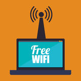 Wifi design Royalty Free Stock Photos
