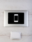 Wifi devices connection Royalty Free Stock Photo
