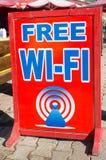 Wifi gratuit Photos stock