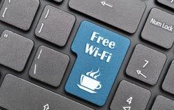 Wifi gratuit Photographie stock