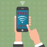 Wifi gratuit Photo stock