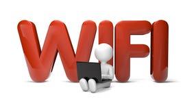 Wifi icon Stock Photos