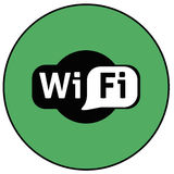 WiFi icon Stock Image