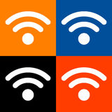 Wifi icon great for any use. Vector EPS10. Stock Photos