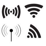 Wifi icon set. Royalty Free Stock Photography