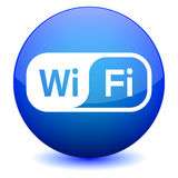 WiFi Icon. Wifi web button - computer generated image. Eps file available Royalty Free Stock Photos