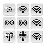 Wifi icons Royalty Free Stock Photography