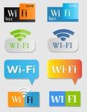 Wifi icons Royalty Free Stock Photo