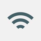 Wifi ikona Fotografia Stock