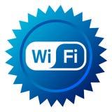Wifi Ikone Lizenzfreie Stockbilder
