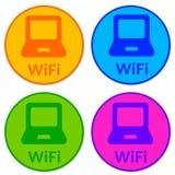 Wifi Ikonen vektor abbildung