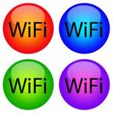 Wifi ikony Obrazy Stock
