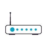 Wifi internet modem Royalty Free Stock Images